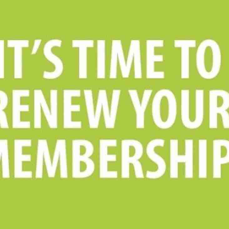 Have you paid your membership fees?