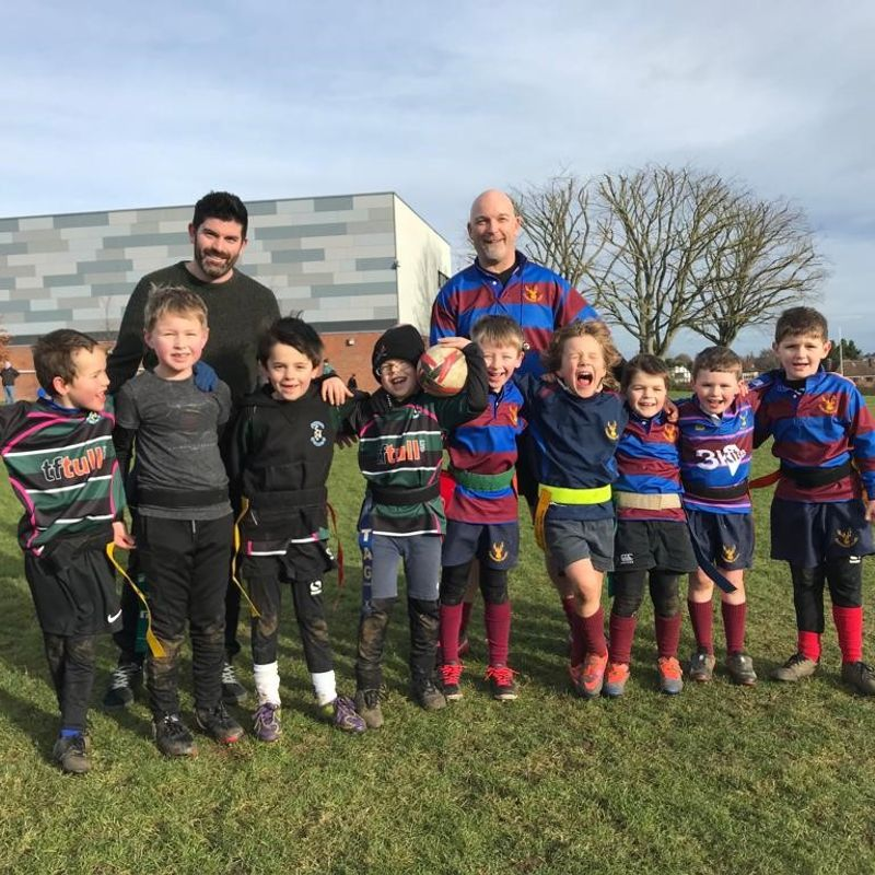 Stags U7 squad welcome Chess Valley