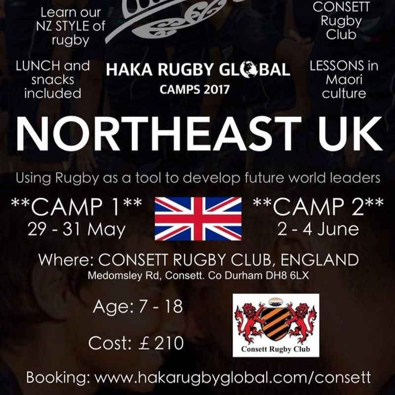 Haka Rugby Global camps