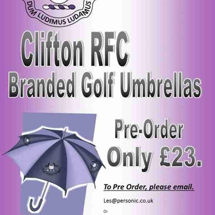 Pre-Order Your Umbrella - Delivery in September 2014