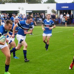 Clinical bonus point victory over Donaghadee in League