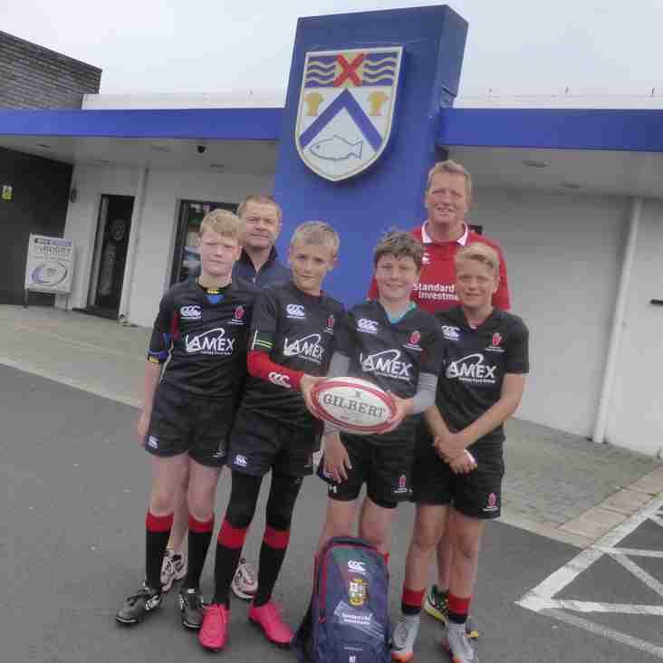 Coleraine U11 quartet off to NZ with Mini Lions
