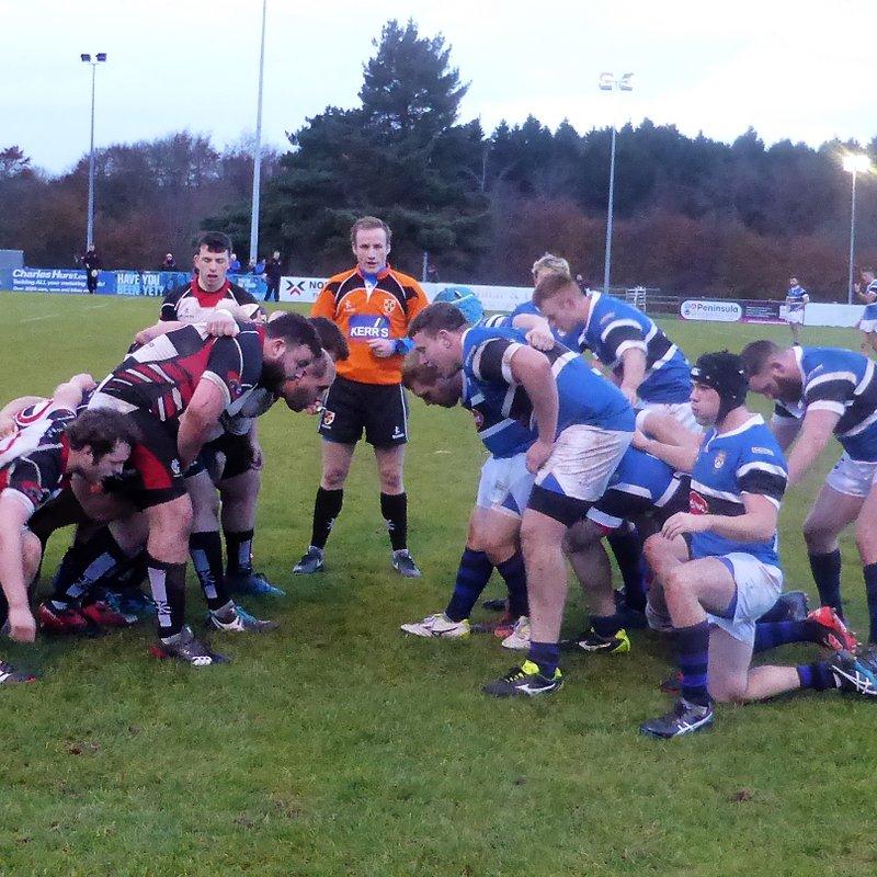 Coleraine win against Cooke at Shaws Bridge
