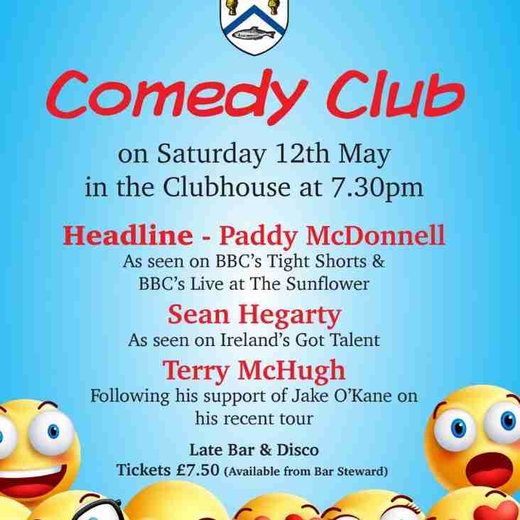 Comedy night returns
