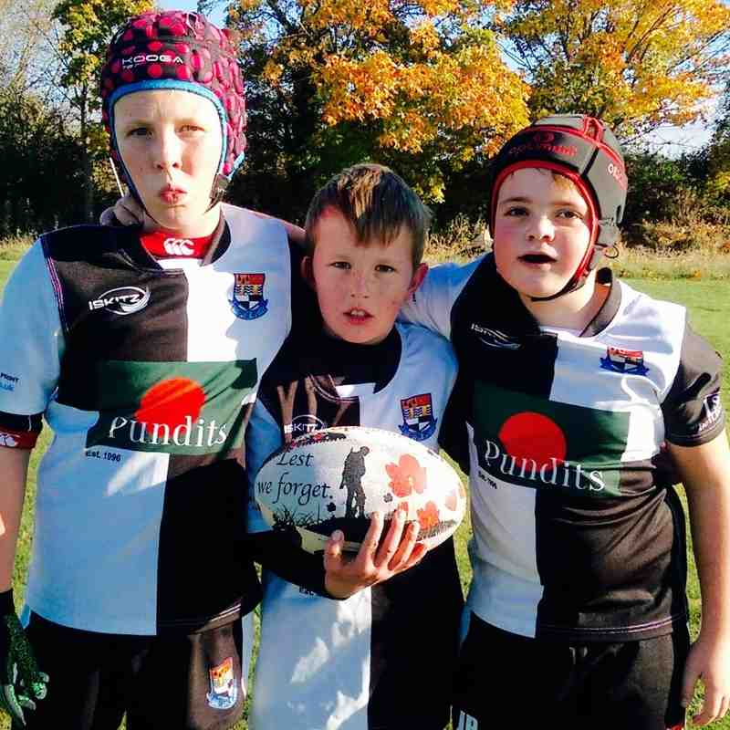 Pershore RFC (Away) on Sunday 6 November 2016
