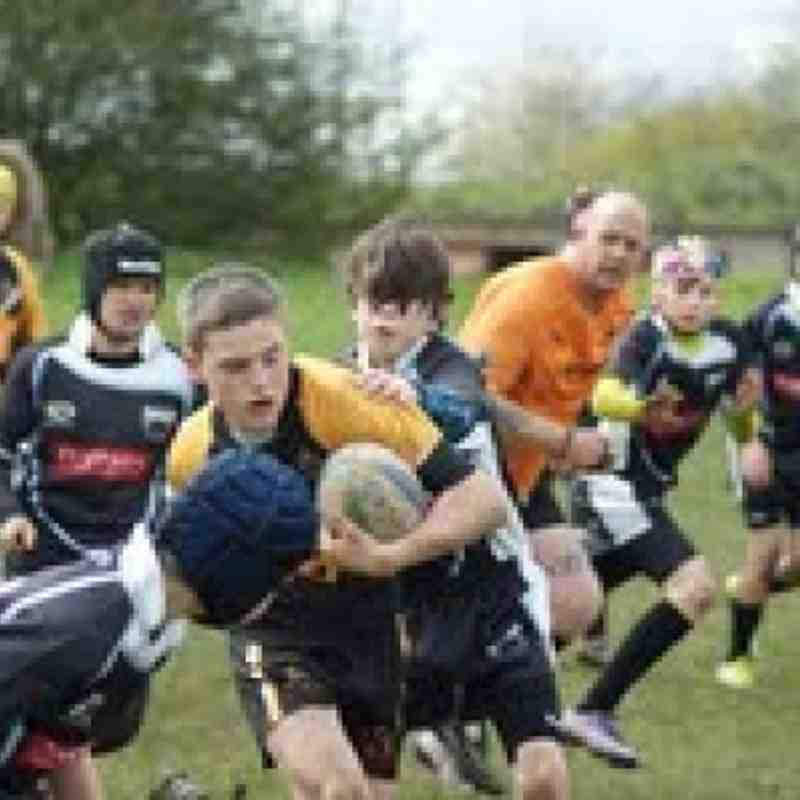 Under 13's Cas Panthers 21.4.12