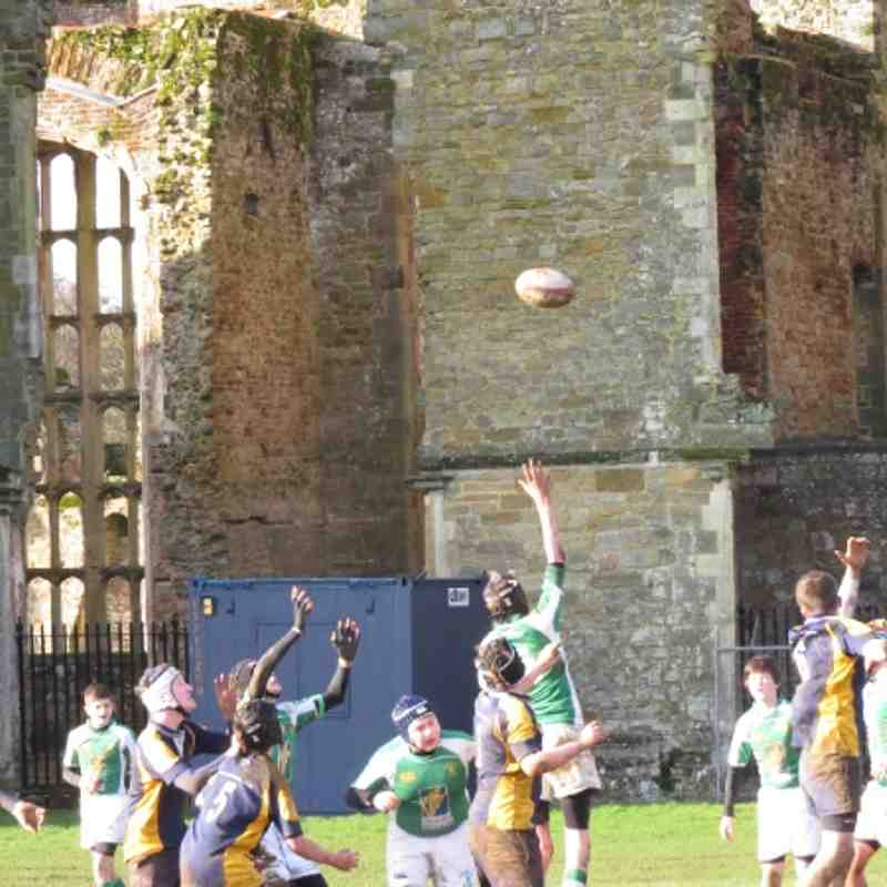 Under 14's v Midhurst 13-01-2013