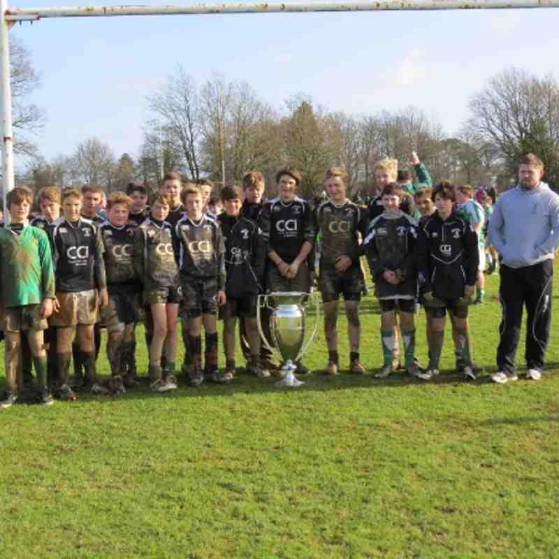 Under 14 Premiership Trophy