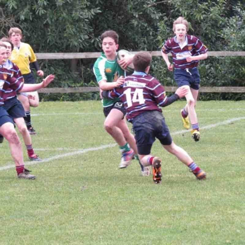 Under 14's v Crawley 10/03/2013