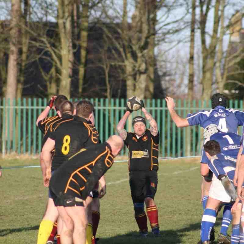 Consett 3rds vs Ryton 21st January 2012