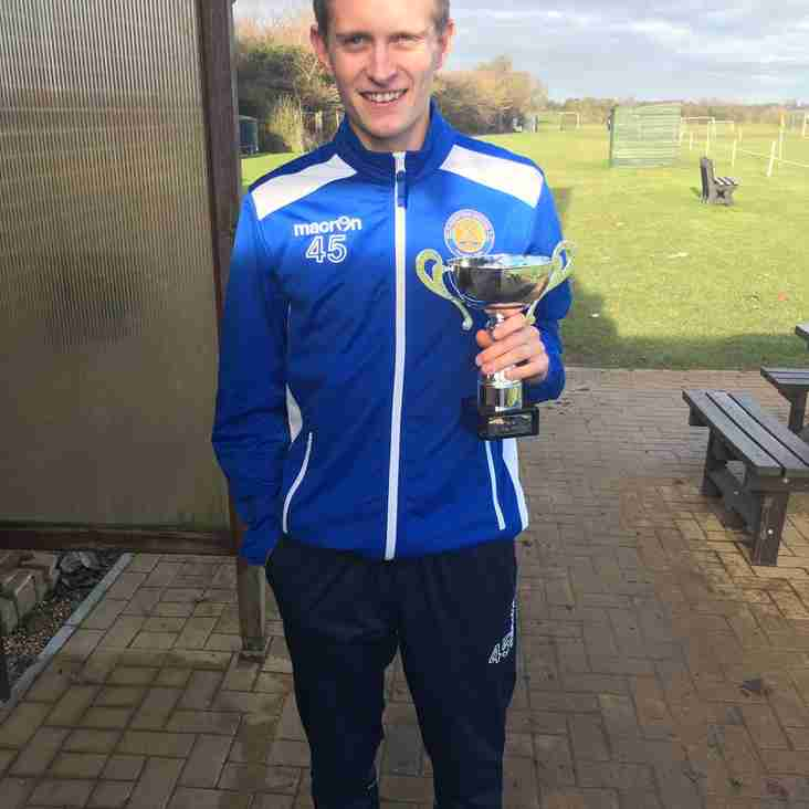 Reserves Player of the month for November