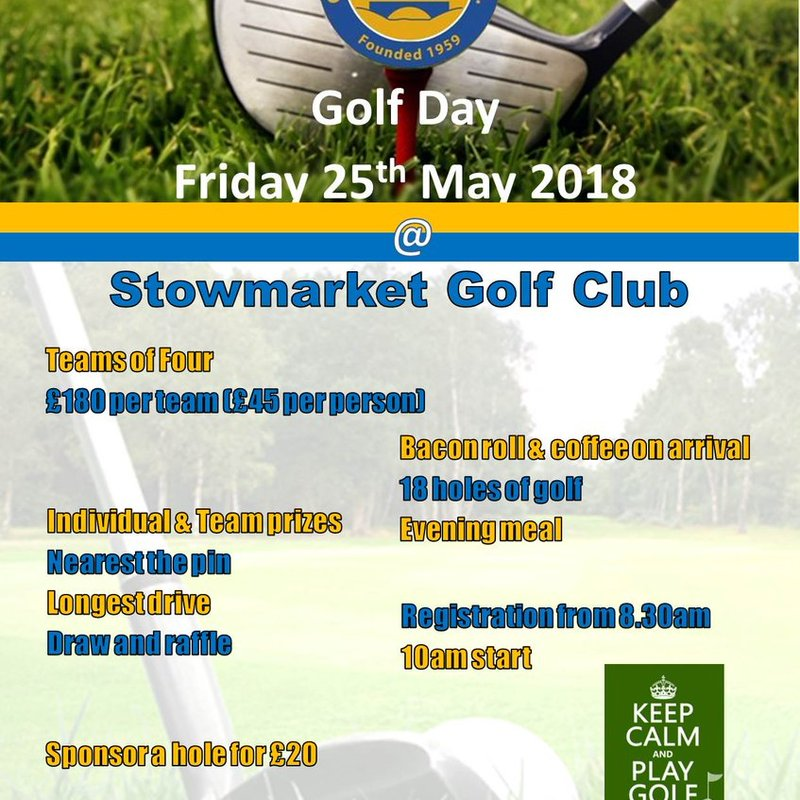 Old Newton United Golf Day