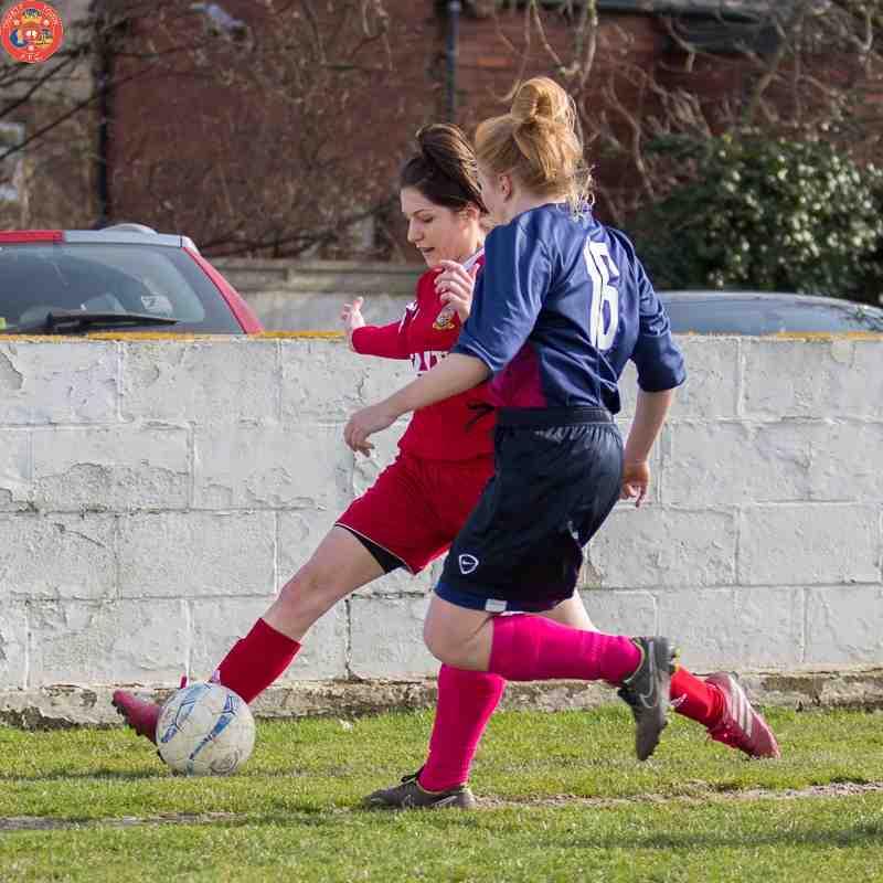 Ossett Town Ladies v Bradford Park Avenue - 22nd March 2015