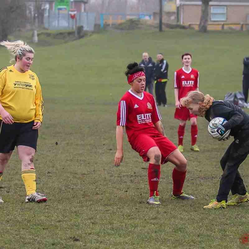 Ossett Town Ladies v Keighley - 15th February 2015