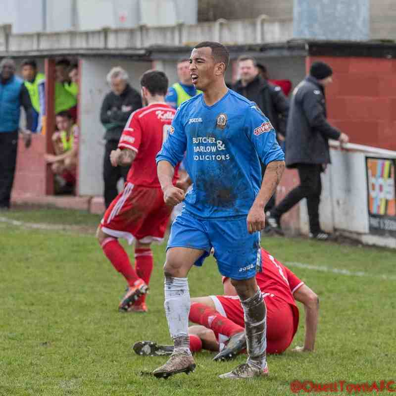 Ossett Town v Radcliffe Borough - 4th April 2015 (Match Abandoned)