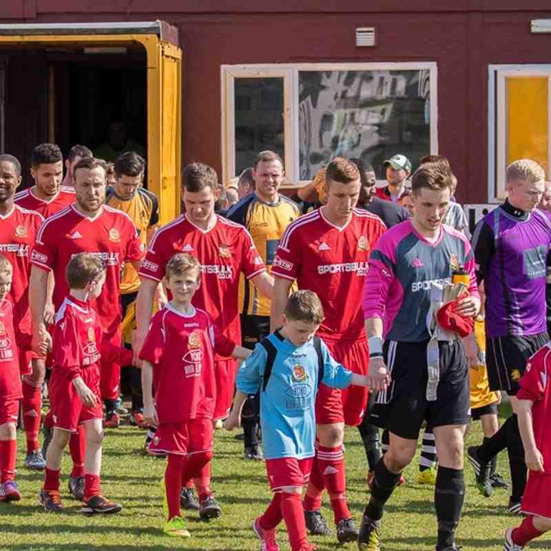 Mascots - Ossett Albion v Ossett Town - 6th April 2015