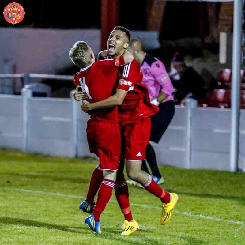 Ossett Town v Scarborough Athletic - 8th September 2015