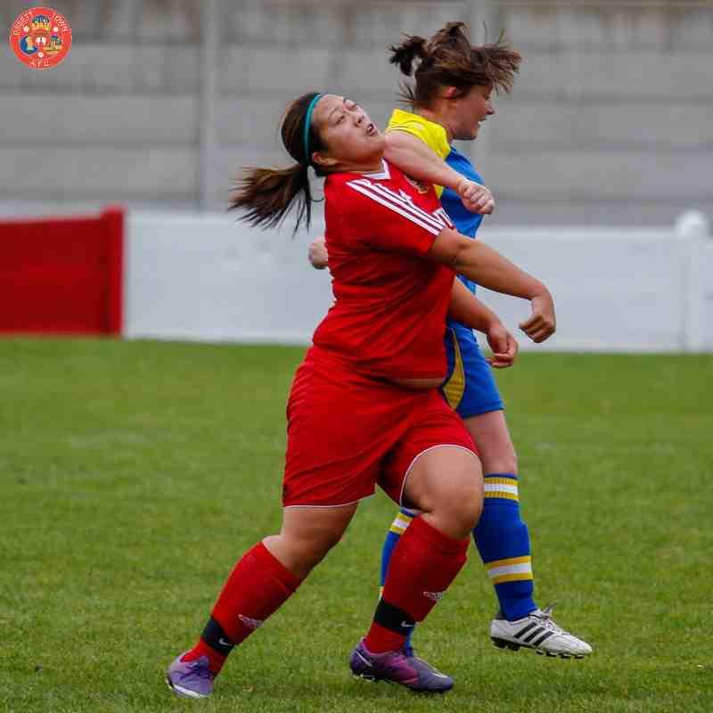 Ossett Town Ladies v Brayton Belles - 20th September 2015