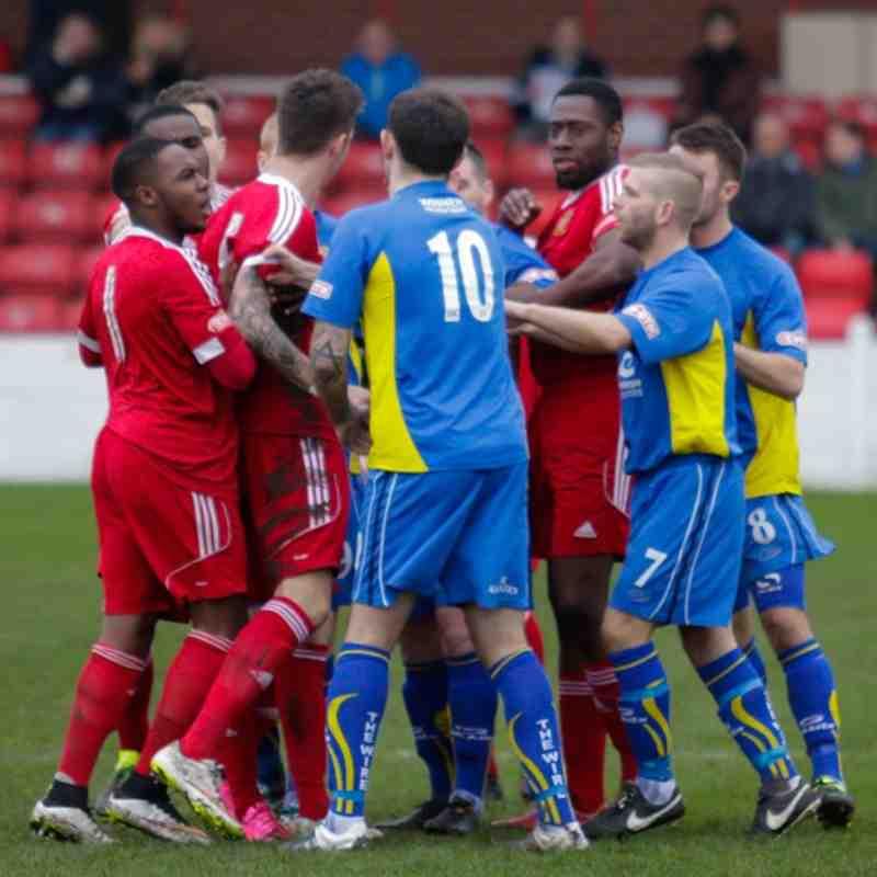 Ossett Town v Warrington Town - 9th January 2016