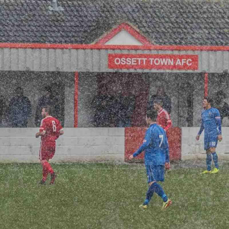 Ossett Town v Clitheroe - 30th January 2016