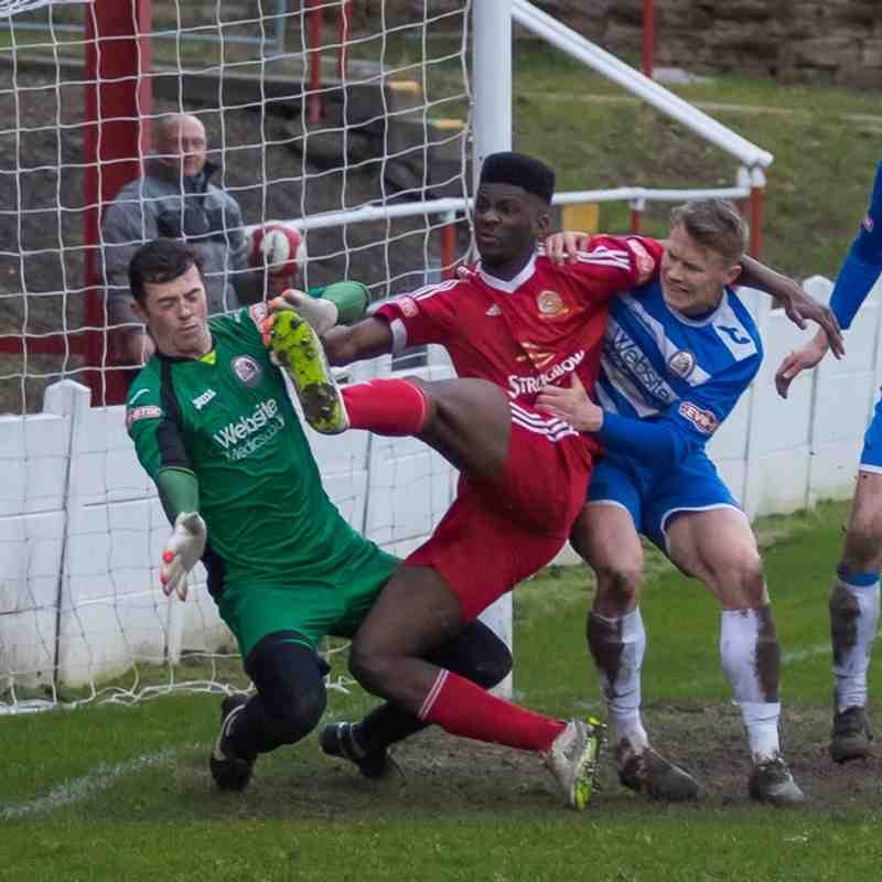 Ossett Town v Radcliffe Borough - 13th February 2016