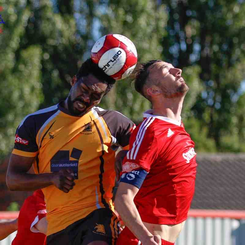 Ossett Town v Ossett Albion - 29th August 2016