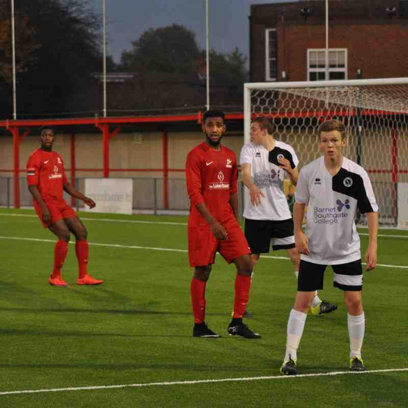 Carshalton Althetic Reserves v Boreham Wood Reserves - 31 October 2015