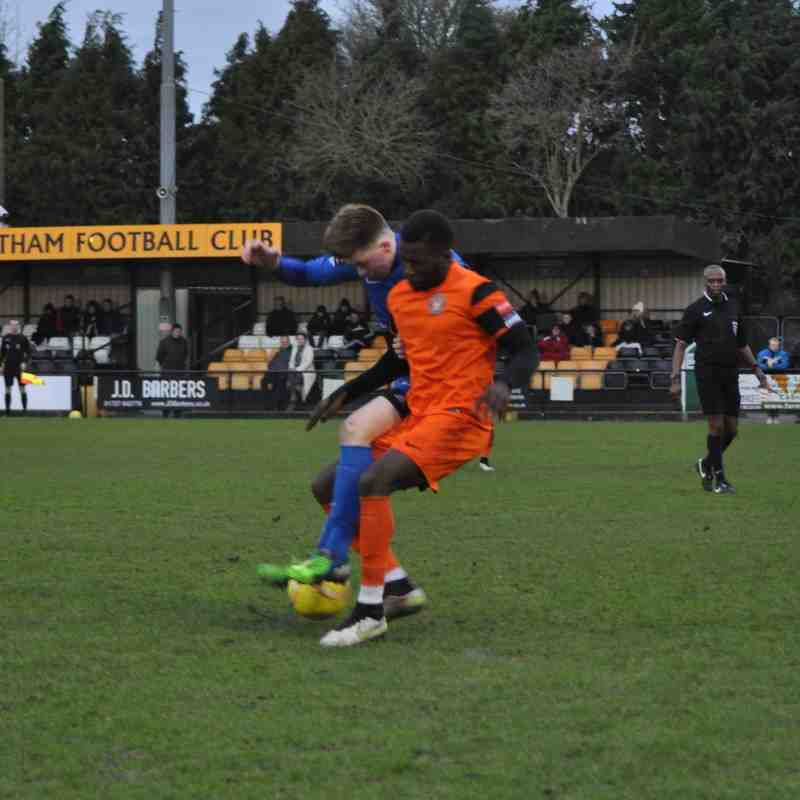 Walton Casuals v Carshalton Athletic - 6 February 2016