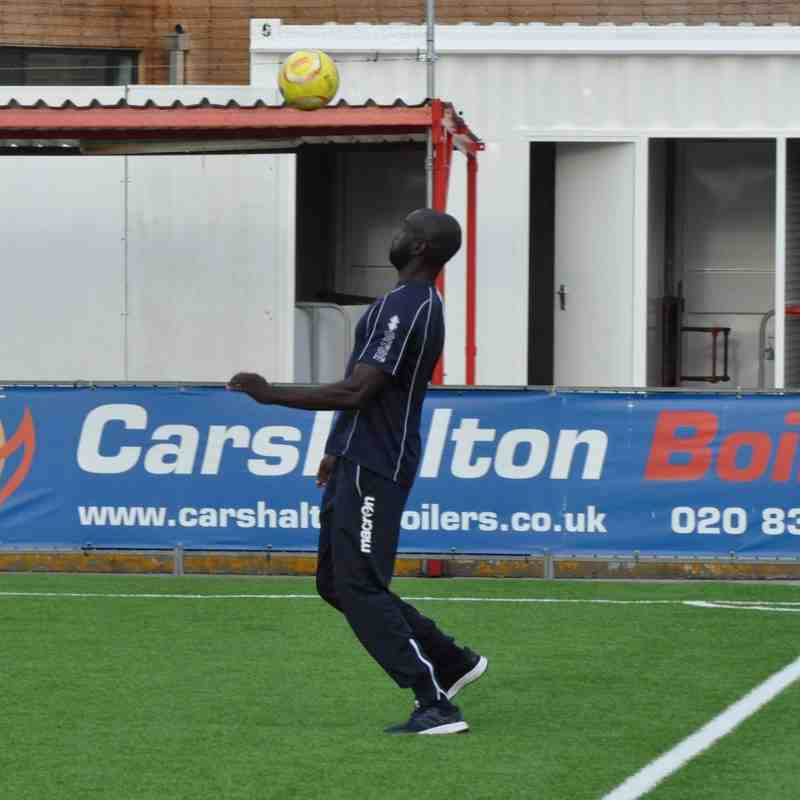 Carshalton Athletic - Pre- Season Training - 27 June 2016