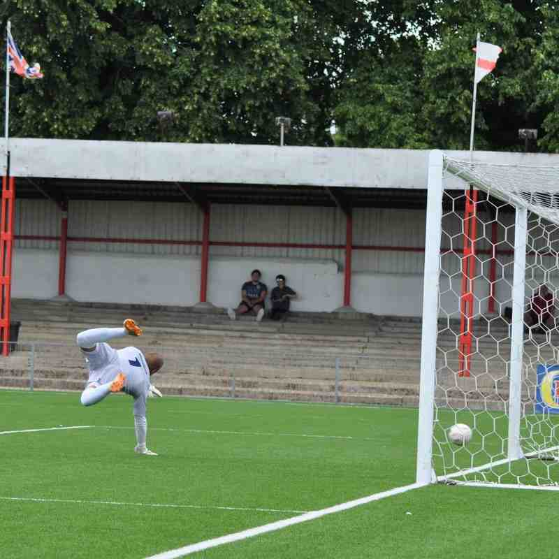 Carshalton Athletic v Kingstonian - 16 July 2016 (Pre - Season Friendly)