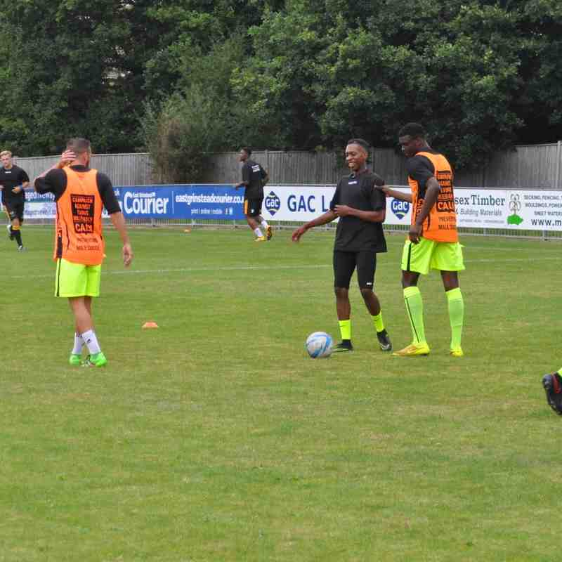 East Grinstead Town v Carshalton Athletic - 27 August 2016