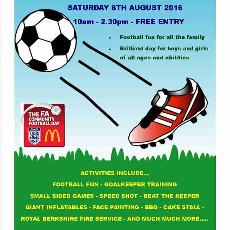 Mcdonalds FA Community Fun Day