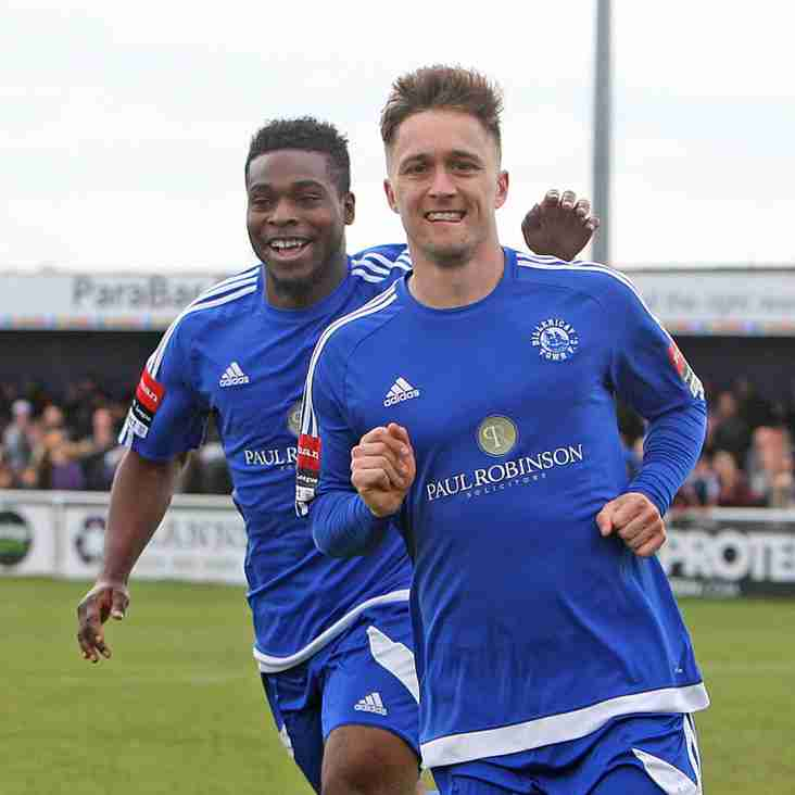 The Bostik Friday Interview: Jake Robinson- Billericay Town FC