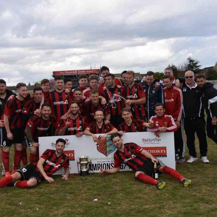 Brightlingsea Regent- North Division champions 2016-17