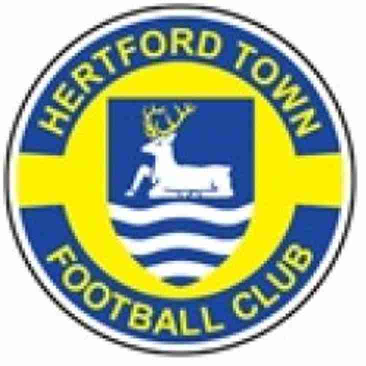 Trio arrive at Hertford