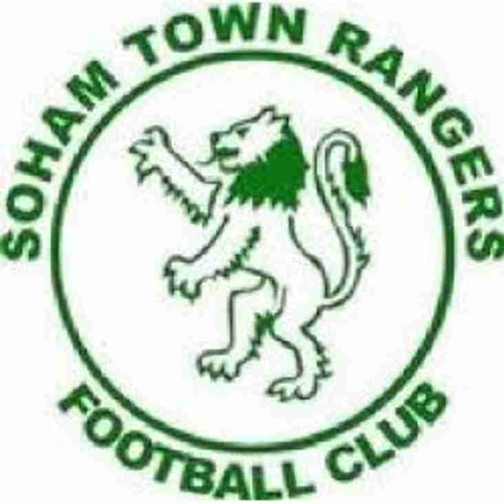 Bostik Supporters Preview 17/18: Soham Town Rangers