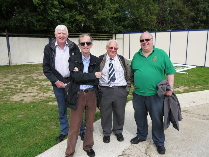 Chris, John, Mick & Eddie of Hendon FC