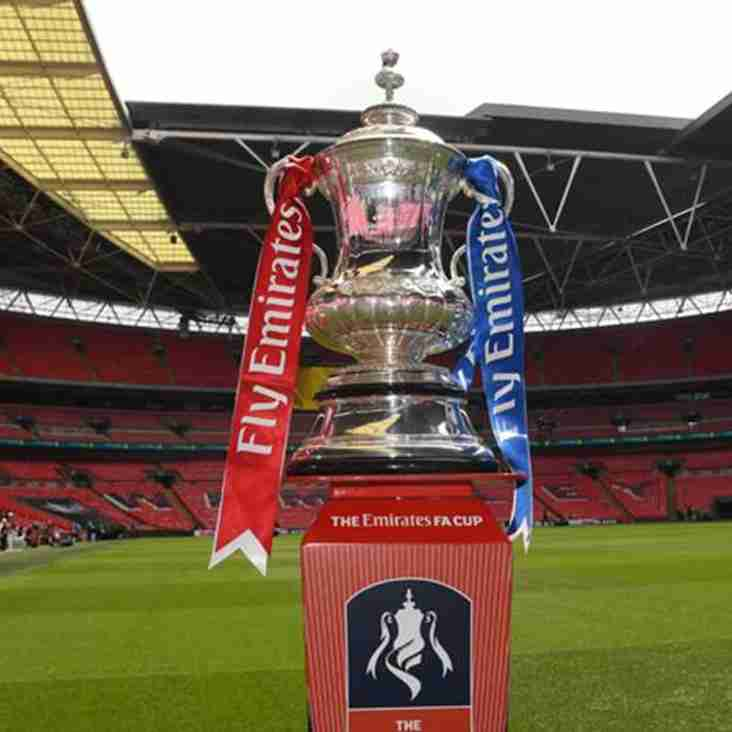 FA Cup Second Round draw!