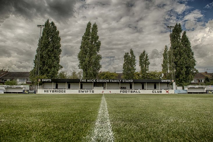 Mick Gibson Family Stand- Heybridge Swifts FC