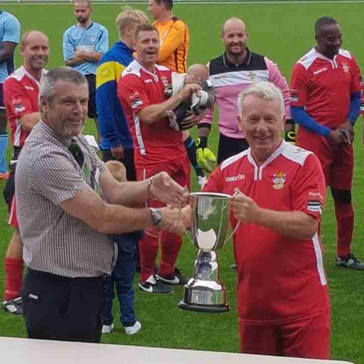 Isthmian XI win the veterans cup