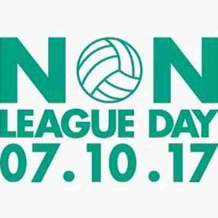 Non League Day- what are you doing?
