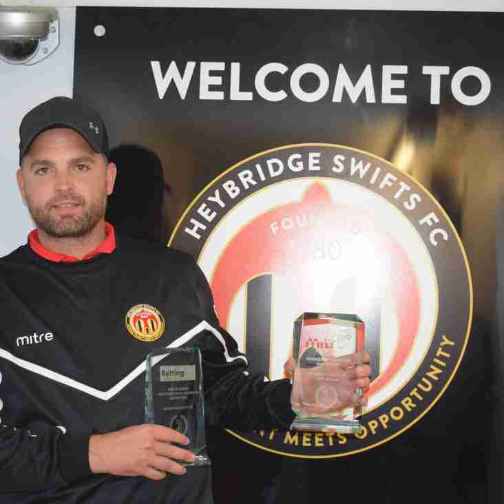 A week to remember for Swifts manager Jody