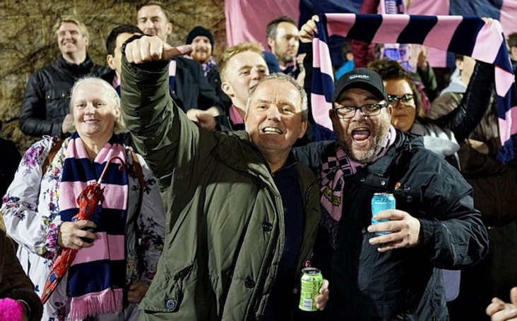 Hamlet fans on Tuesday night- image courtesy of Mike Urban
