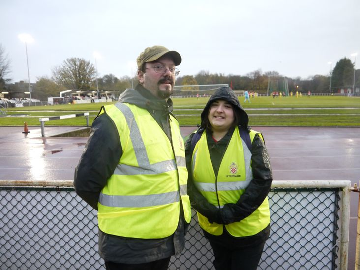 Peter and Ann- responsible for excellent stewarding, a friendly welcome and terrible music!