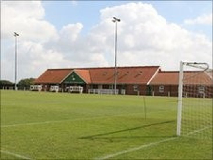 Aldiss Park, home of Dereham Town