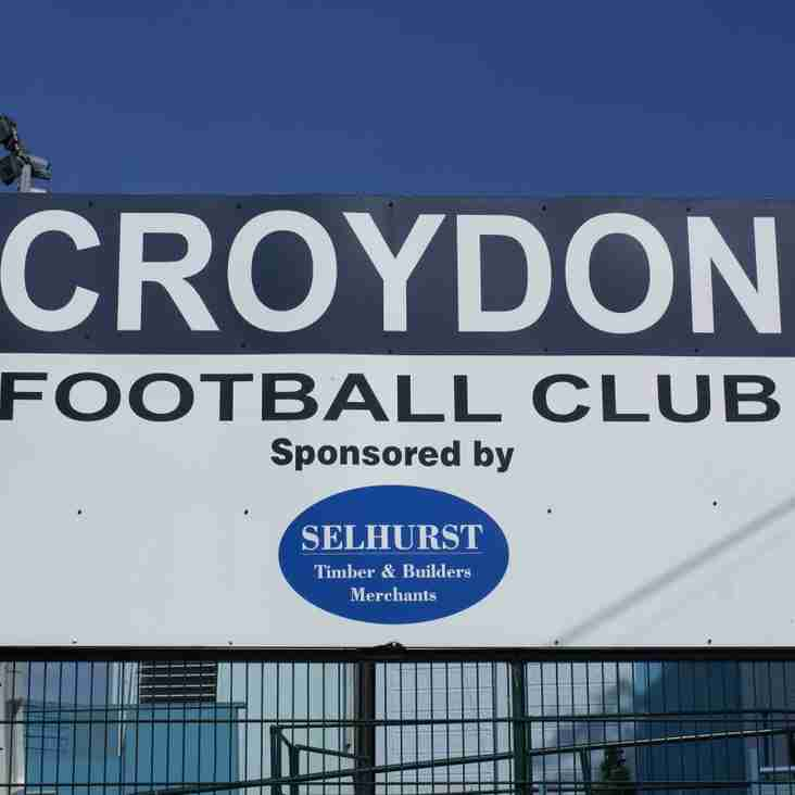 Calling all former Croydon FC players, officials and supporters!