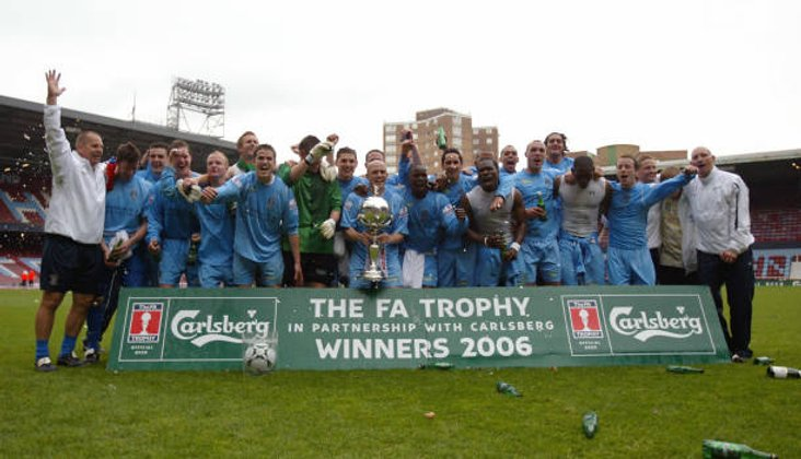 Grays Athletic win the FA Trophy in 2006