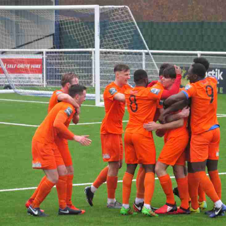 The gap widens in the Premier Division on another weather-hit Bostik night