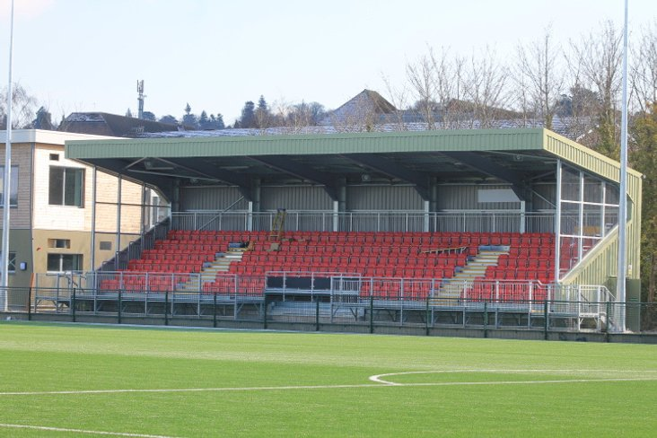 Meadowbank- main stand