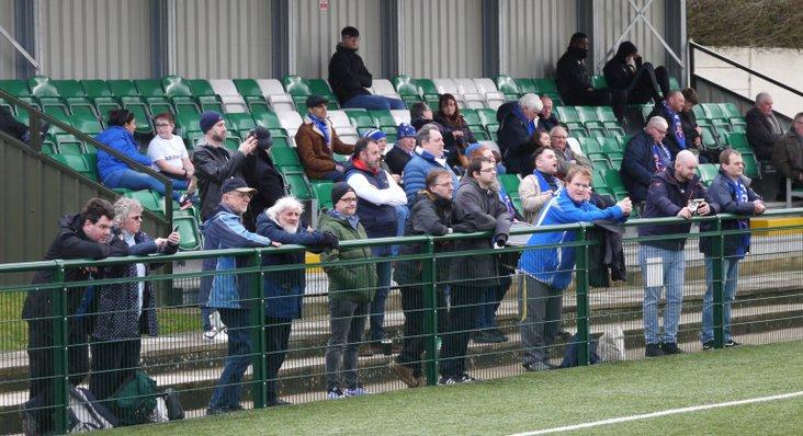 Margate fans at Hendon